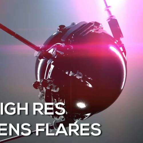 Free High-Res Lens Flares and Light Effects made in VR