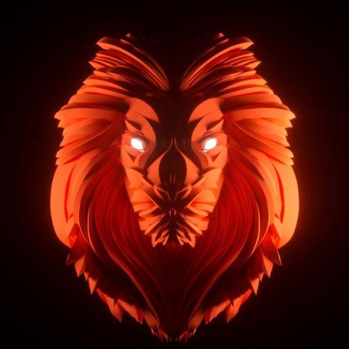 VR Everyday #21 – Lion sculpted in MasterpieceVR +Cinema4D