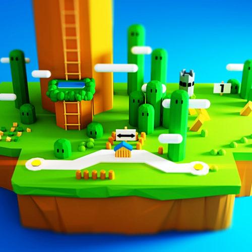 VR Everyday #36 – Super Mario World VR Nintendo Blocks Sculpt