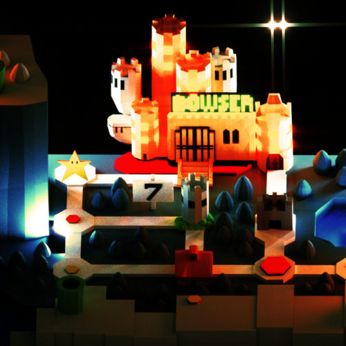 VR Everyday #43 – Super Mario World VR Nintendo Blocks Sculpt