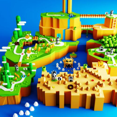 VR Everyday #45 – Super Mario World VR Nintendo Blocks Sculpt