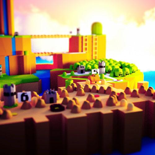 VR Everyday #41 – Super Mario World VR Nintendo Blocks Sculpt