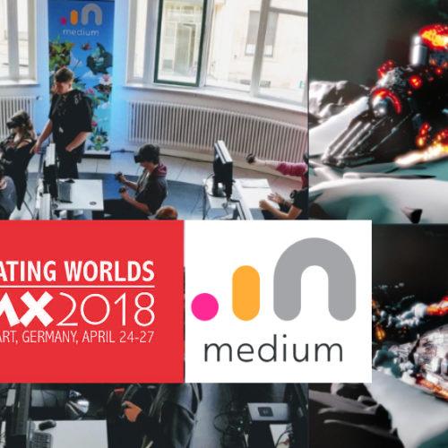 VR Everyday #114 – Oculus Medium FMX 2018