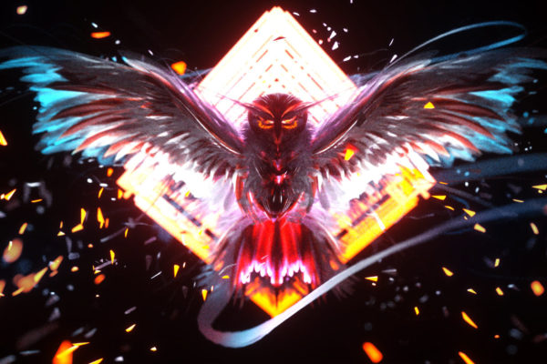 NEON OWL ART Virtual Reality vrhuman vreveryday 186