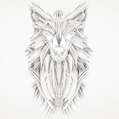 VR Everyday #182 – Tilt Brush Wolf